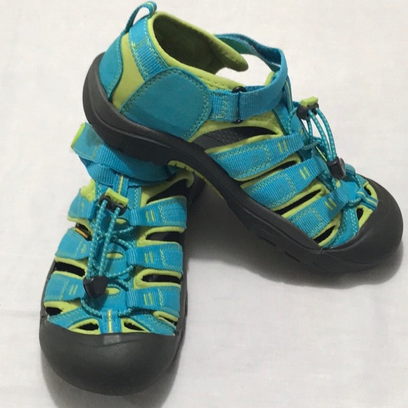 6d68d833f6812c Keen Shoes - KEEN Women s Blue   Yellow Sandals